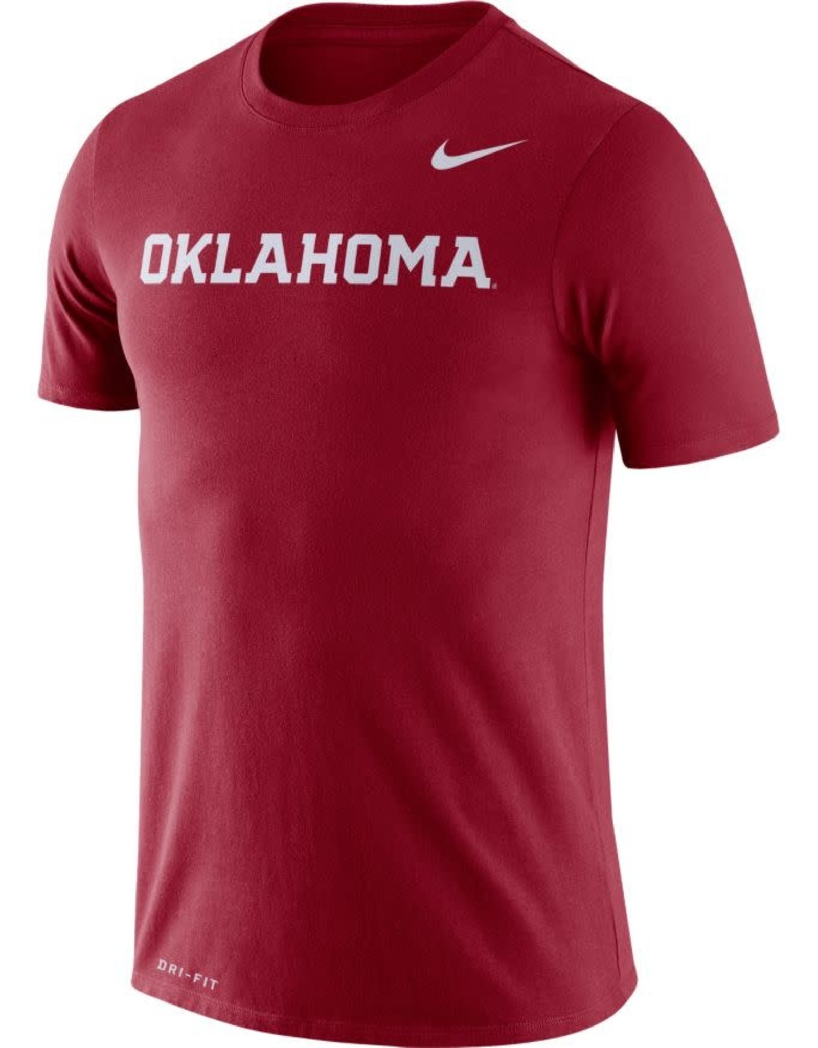 Nike Men's Nike Dri-Fit Legend S/S Logo Word Tee Crimson