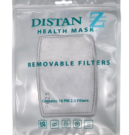 Distanz Health Mask Mask PM 2.5 Replacement Filters
