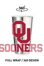 GameTime Sidekics Oklahoma 16oz Pint Stainless Tumbler