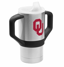 GameTime Sidekics Oklahoma 8oz Stainless Sippy Cup Tumbler