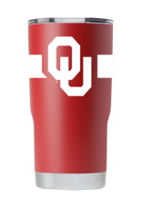 GameTime Sidekics Oklahoma 20oz Crimson Stainless Steel Tumbler