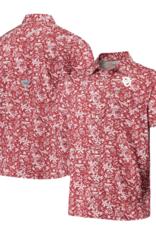 Columbia Columbia Oklahoma Sooners Super Slack Tide Camp Shirt