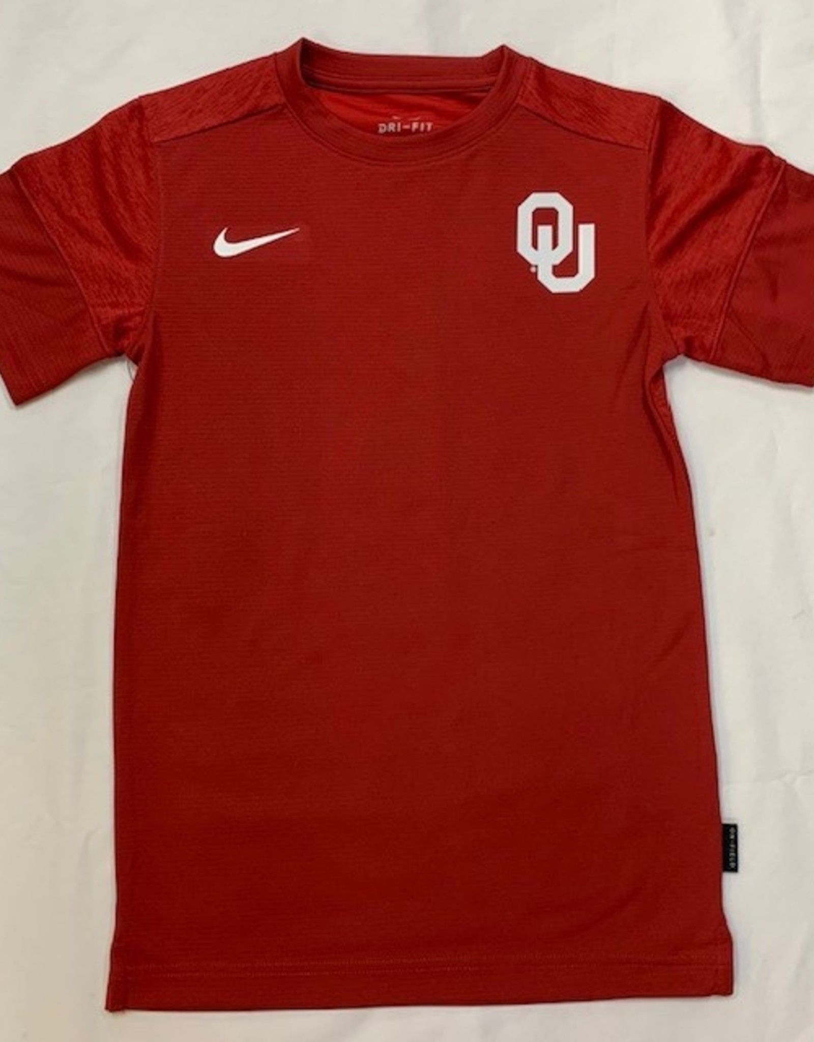 Nike Youth Nike OU Crimson Dri-Fit Coach S/S Tee