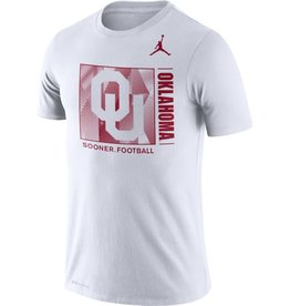 Jordan Men's Jordan Dri-Fit Cotton Team Issue Tee White