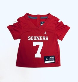Jordan Infant's Jordan Brand #7 Sooners Football Jersey