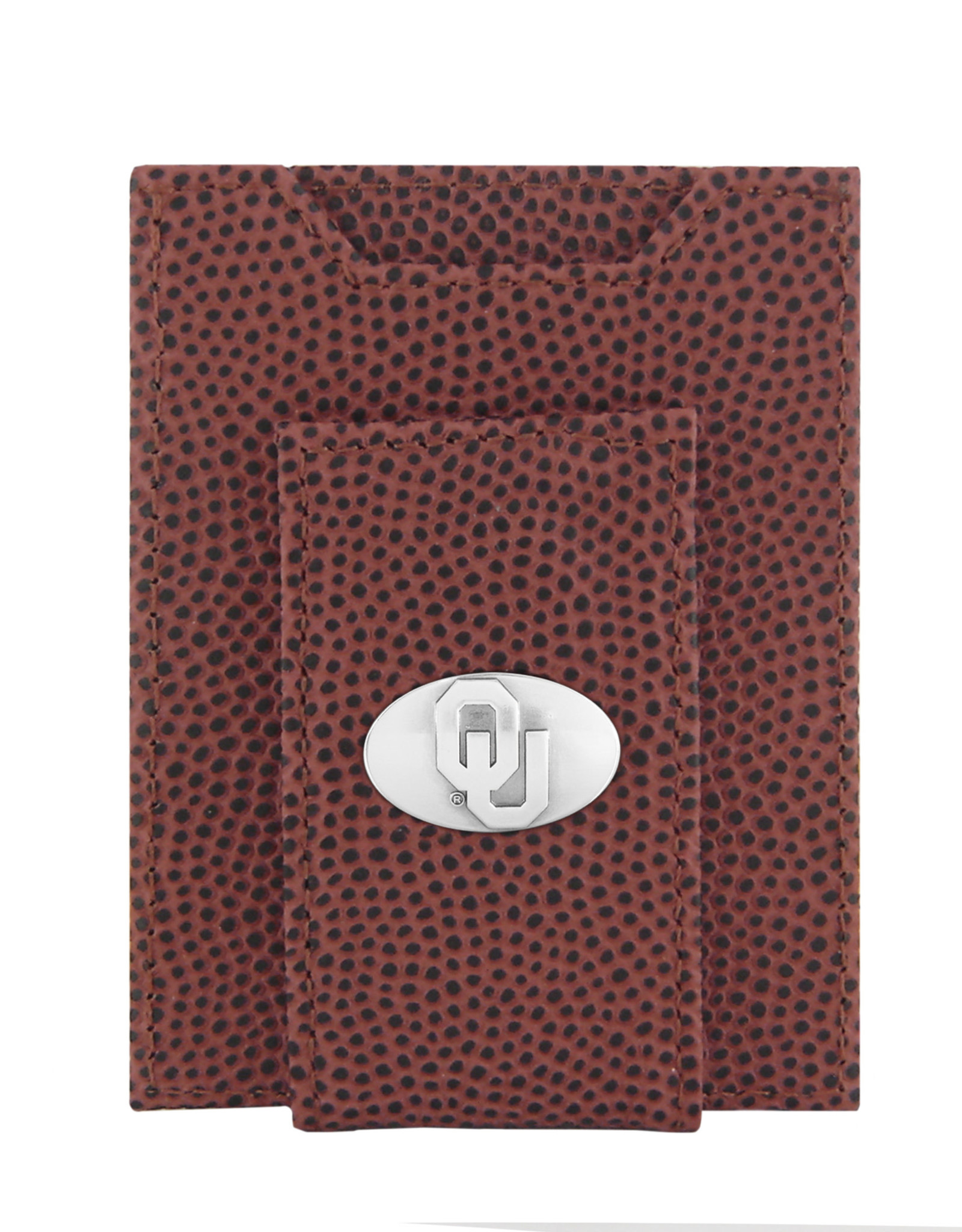 Zep-Pro Zep-Pro Football Grain Front Pocket Embossed Wallet