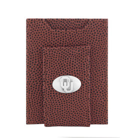 Zep-Pro Zep-Pro Football Grain Front Pocket Concho Wallet