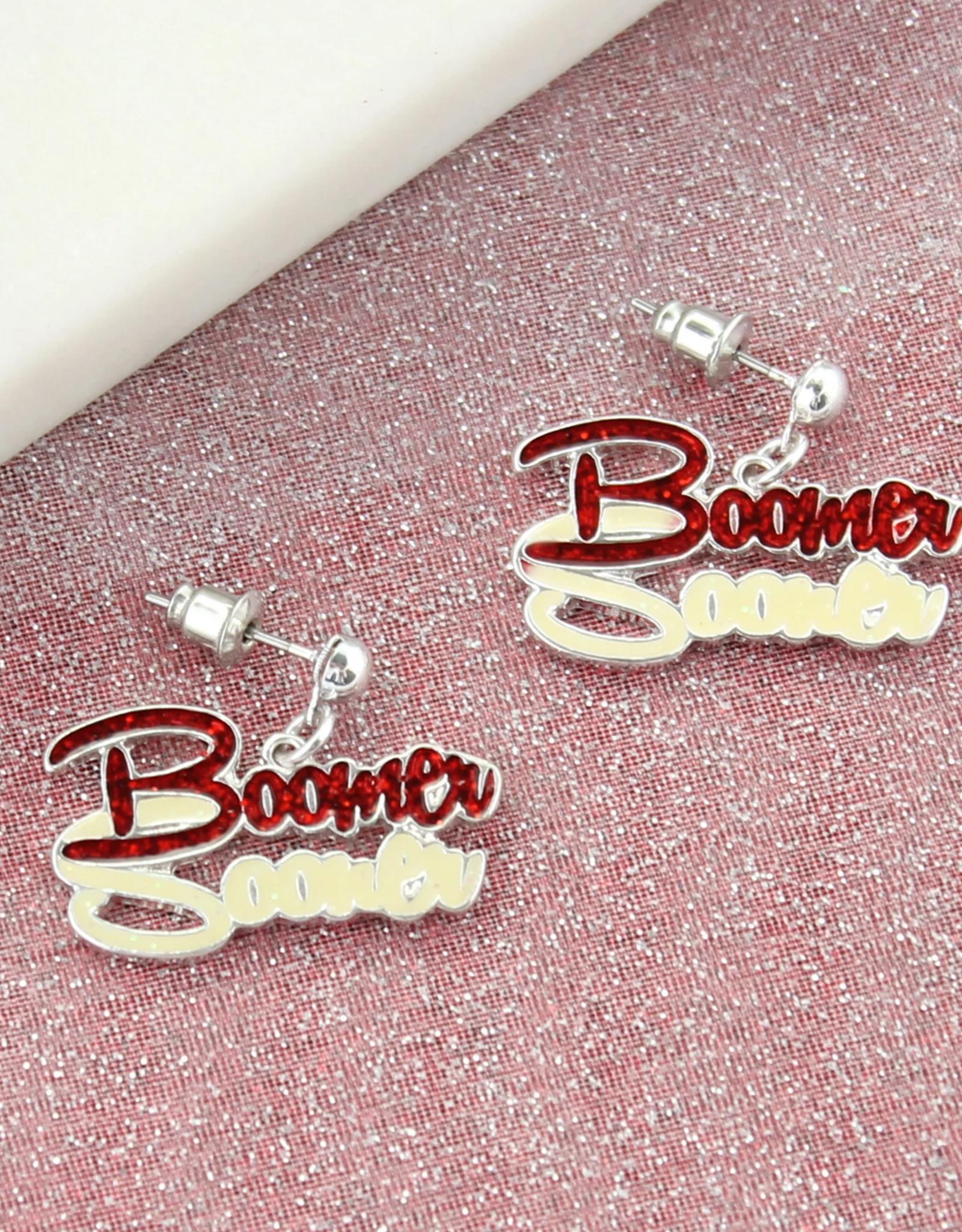 Seasons Jewelry Boomer Sooner Earring