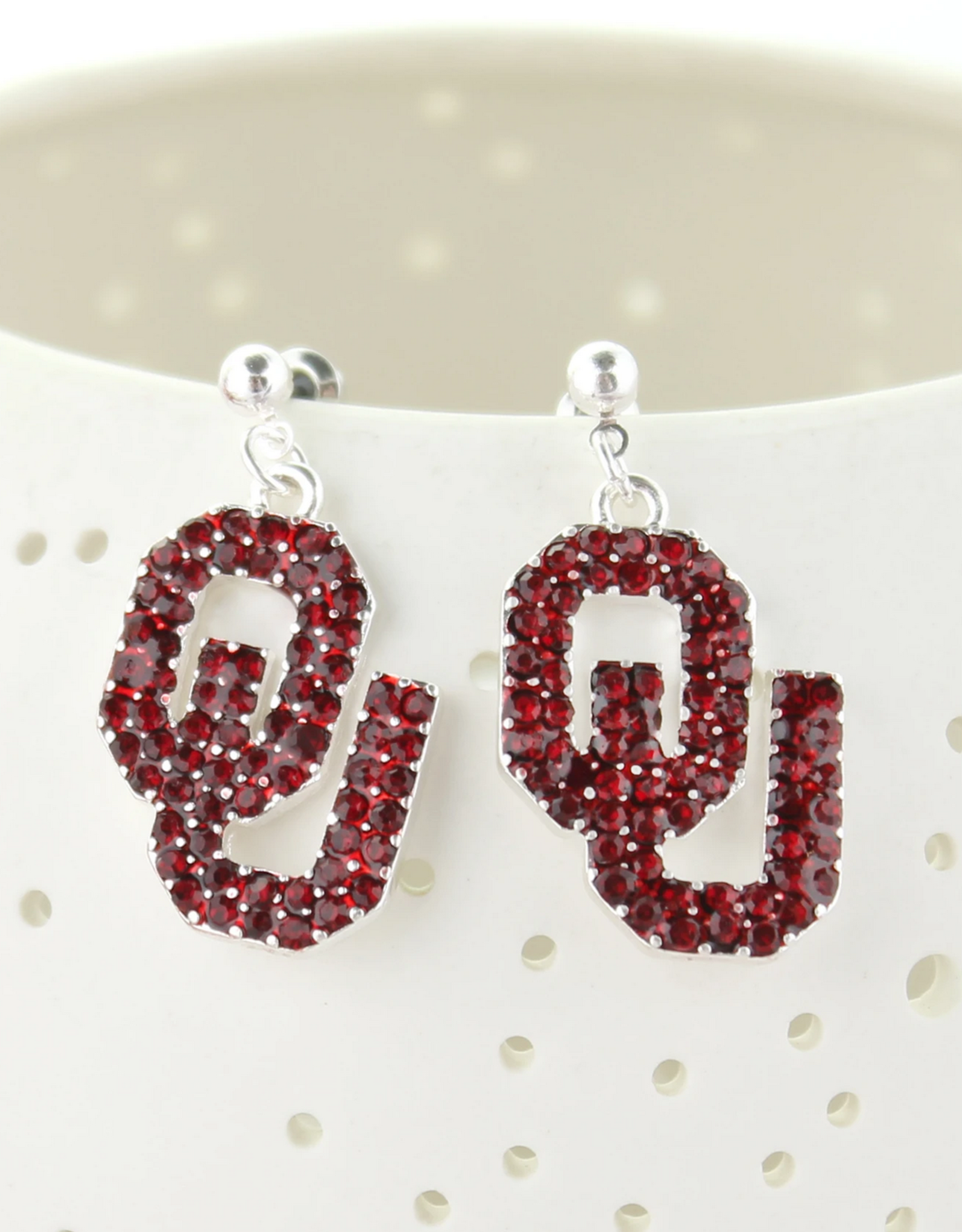 Seasons Jewelry OU Crystal Earring