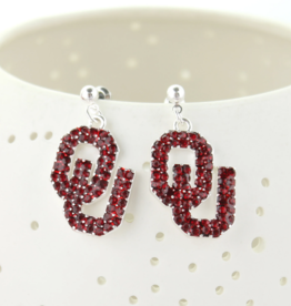 Seasons Jewelry OU Crystal Earring