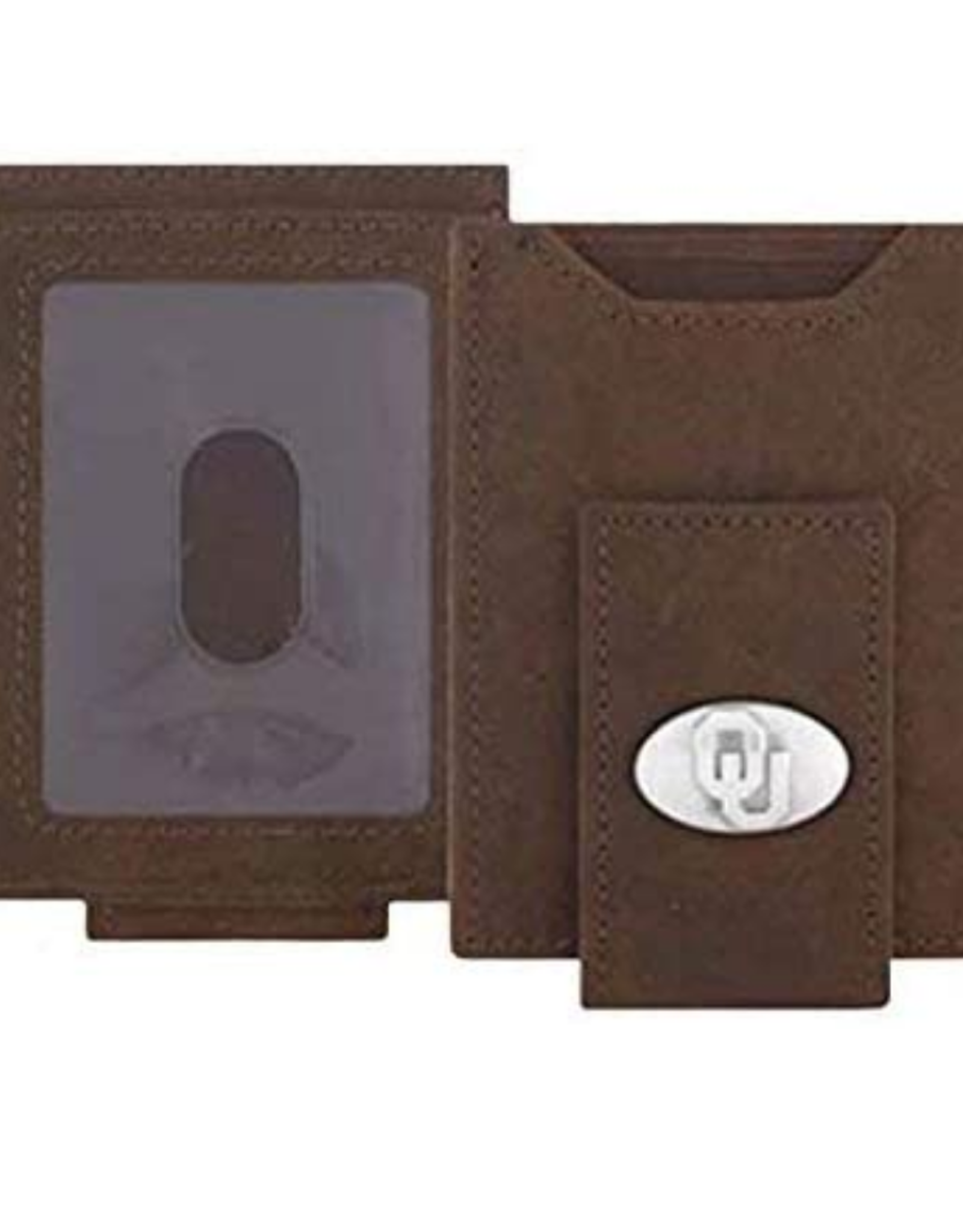 Zep-Pro Zep-Pro Lt. Brn Crazy Horse Front Pocket Wallet