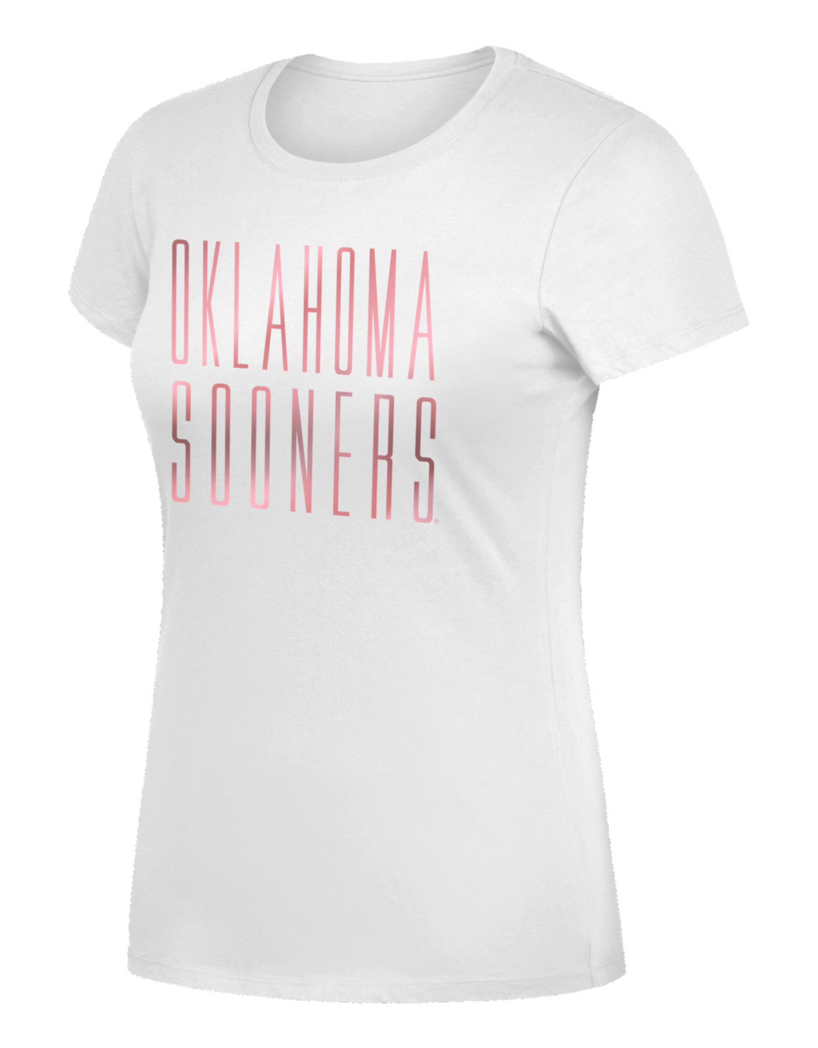 TOW Women's TOW Favorite Crew Tee Oklahoma Sooners Rose Gold