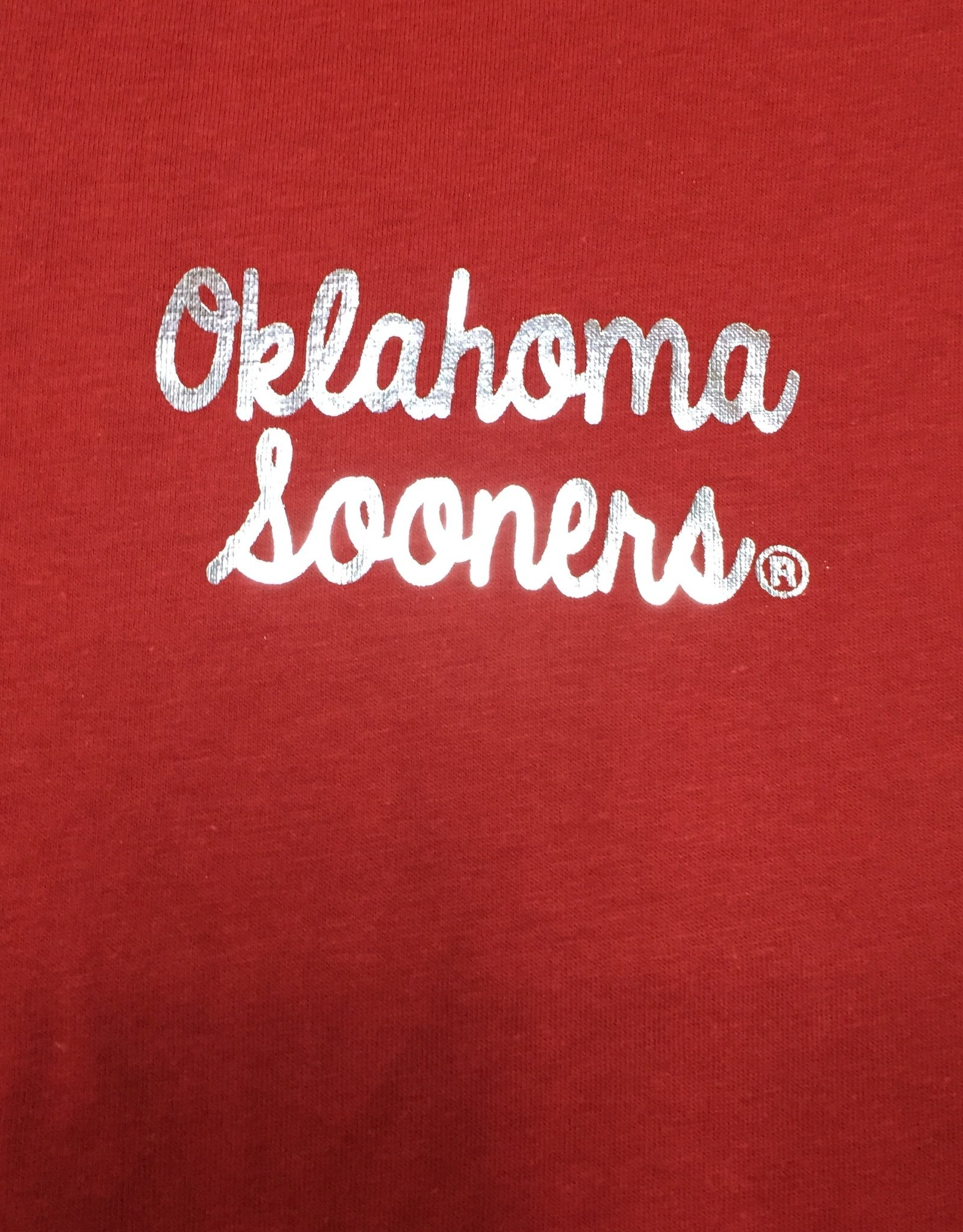 TOW Women's TOW V-Neck Favorite Tee Oklahoma Sooners Foil