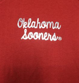 TOW Women's TOW V-Neck Favorite Tee Oklahoma Sooners Foil