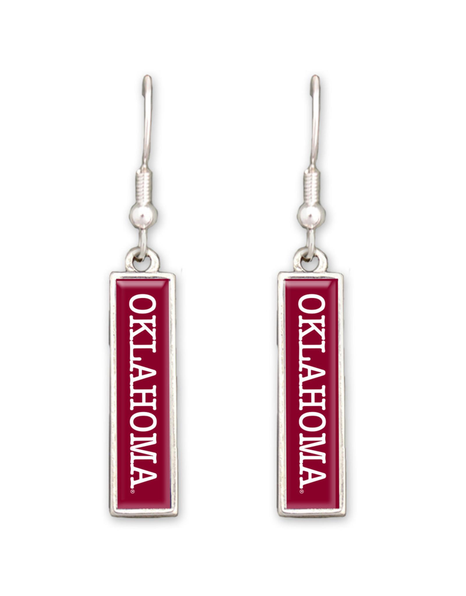 FTH FTH Oklahoma Nameplate Earrings