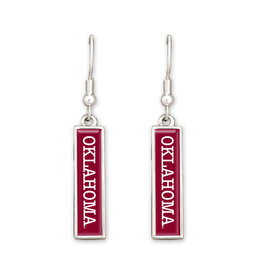 FTH FTH Oklahoma Nameplate Earrings