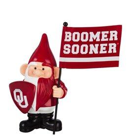 Team Sports America OU Gnome Flag Holder