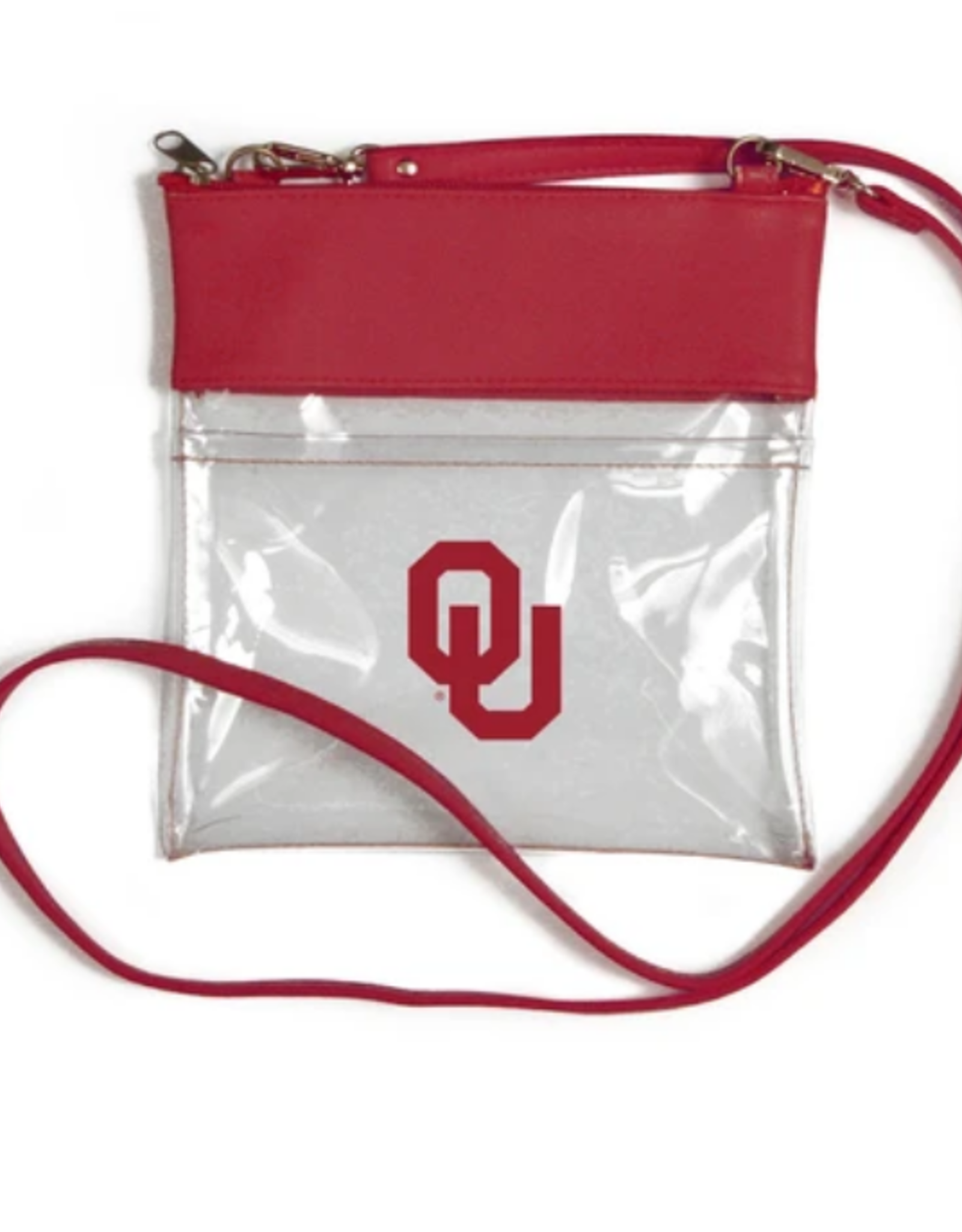 Desden Desden OU Clear Gameday Crossbody