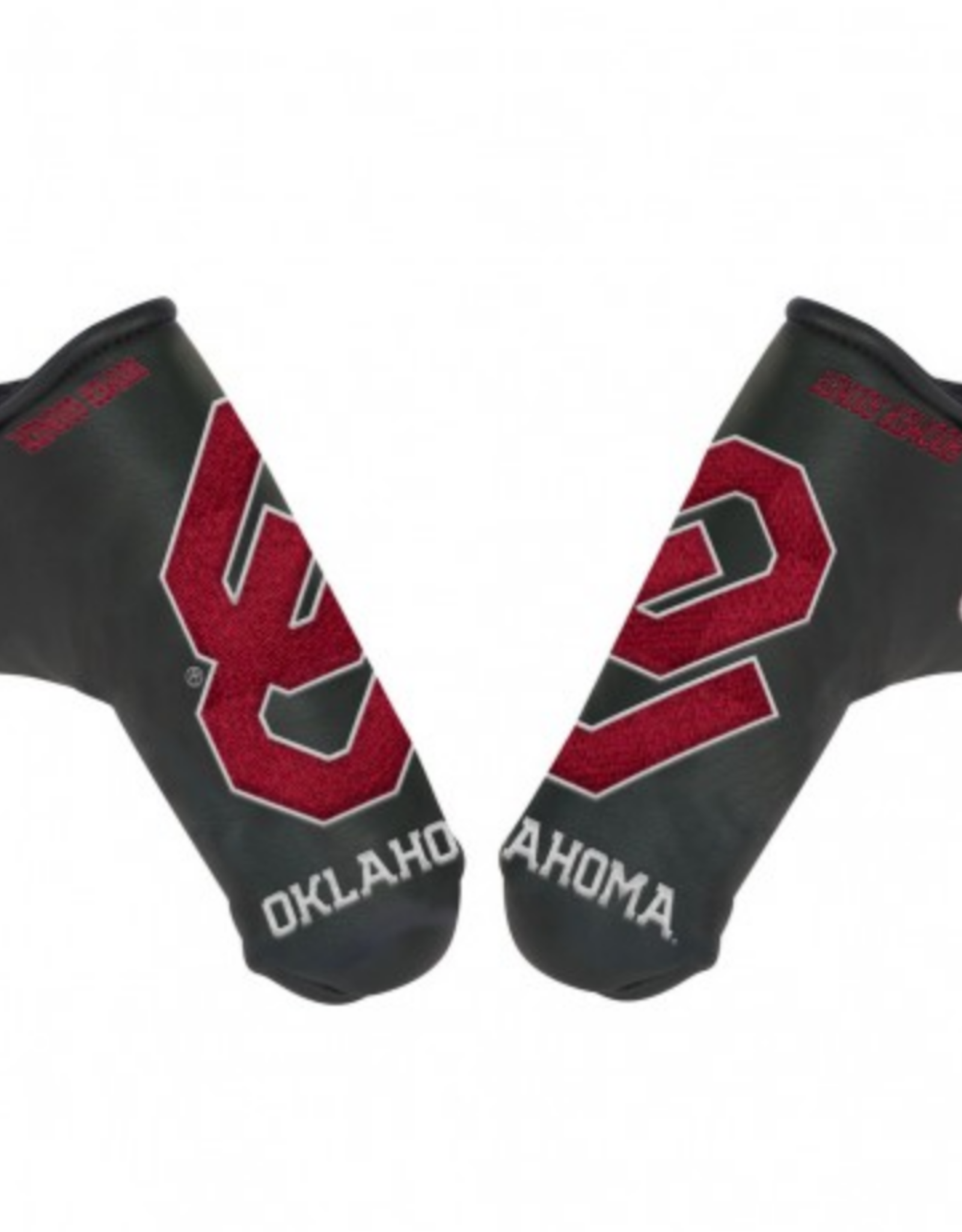 Team Effort OU Schooner Boomer Sooner Blade Putter Cover Black