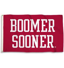 BSI Boomer Sooner Premium 3'x5' Flag (M)