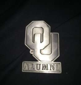 Sparta OU Alumni Pewter Auto Emblem