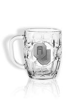 Sparta OU Dimpled Beer Mug w/ Pewter Emblem