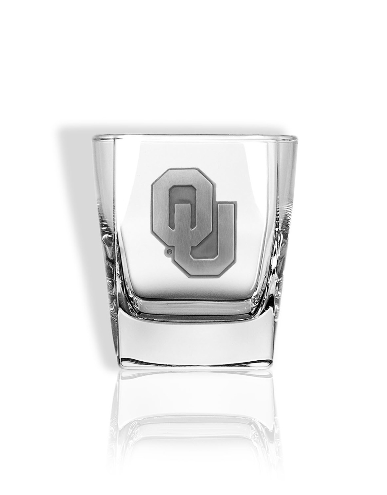 Jardine OU Rocks Glass w/ Pewter Emblem