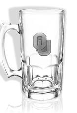 Jardine OU 1 Liter Glass Mug w/ Pewter Emblem