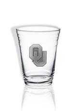 Sparta OU 16oz Party Glass w/ Pewter Emblem
