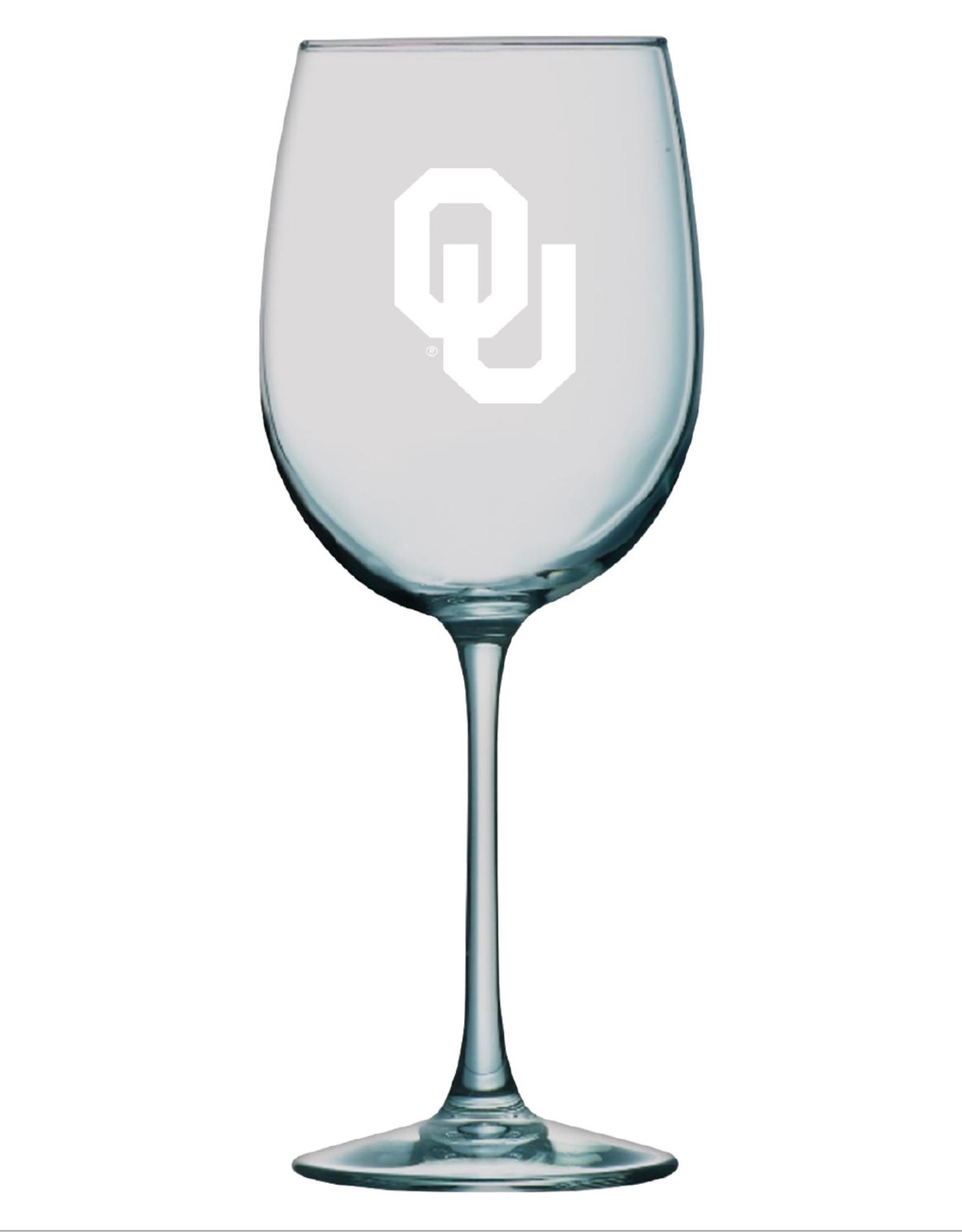 LXG LXG Etched OU 16oz Wine Glass