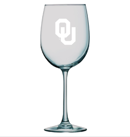 LXG LXG Etched OU 16oz Wine Glass
