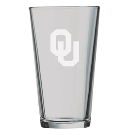 LXG LXG Etched OU Pint Glass