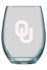 LXG LXG Etched OU 21oz Boulder Stemless Wine Glass