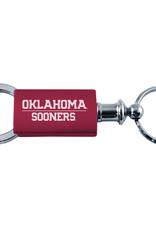 LXG LXG Oklahoma Sooners Dk Crimson Valet Keychain