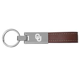 LXG LXG OU Leather/Metal Keychain