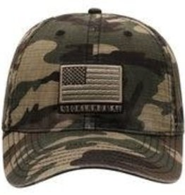 Top of the World TOW Oklahoma Flagdrab Adjustable Camo Hat
