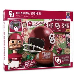 "You The Fan Oklahoma Sooners 24""x18"" 500 Piece Puzzle"