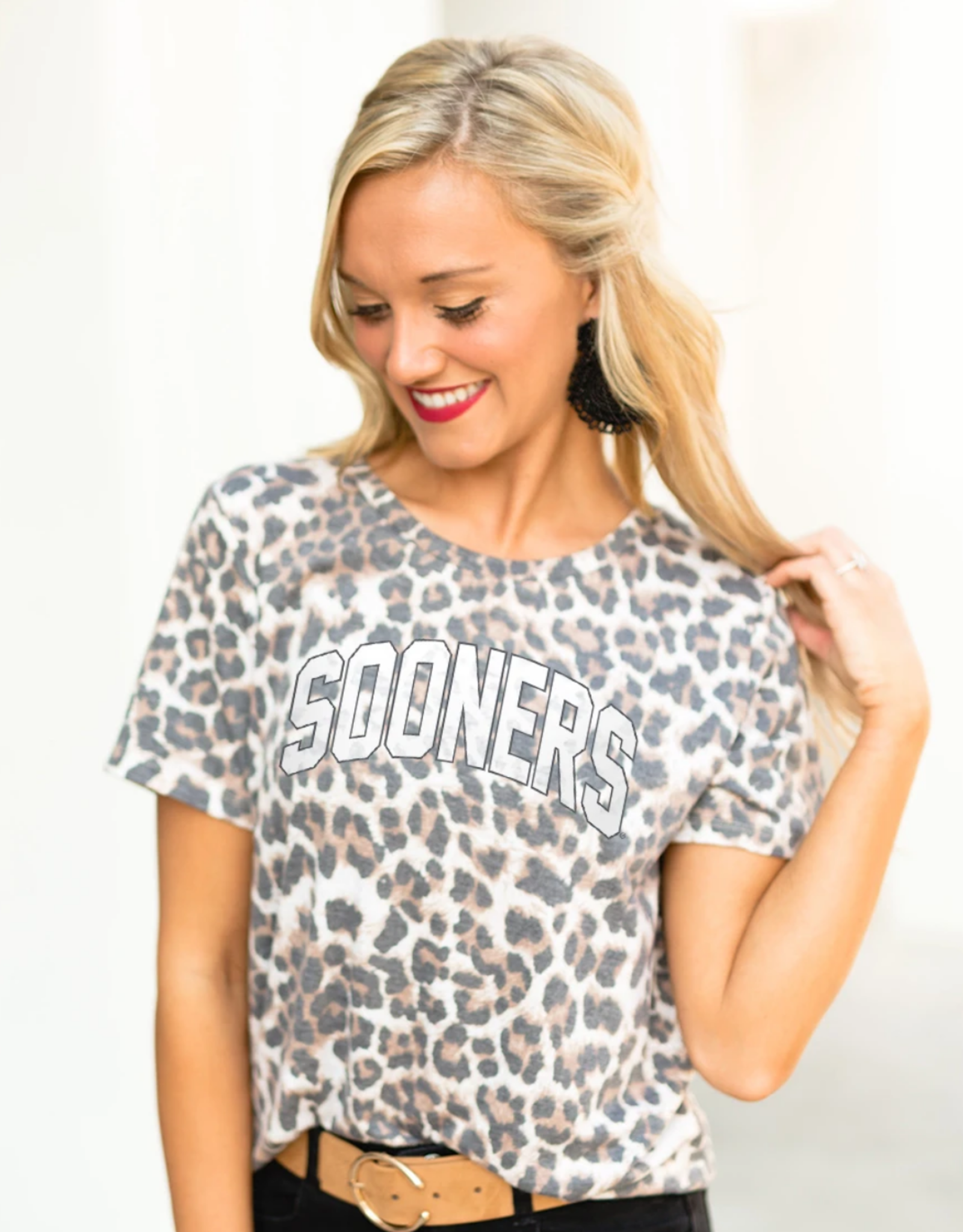 Gameday Couture Gameday Couture Oklahoma Sooners Feline Fierce Top