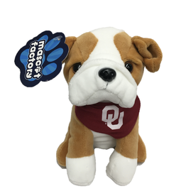 Mascot Factory Palm Pal Bulldog w/ Bandana