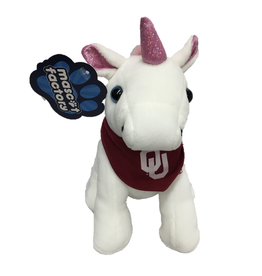 Mascot Factory Palm Pal Unicorn w/ Bandana