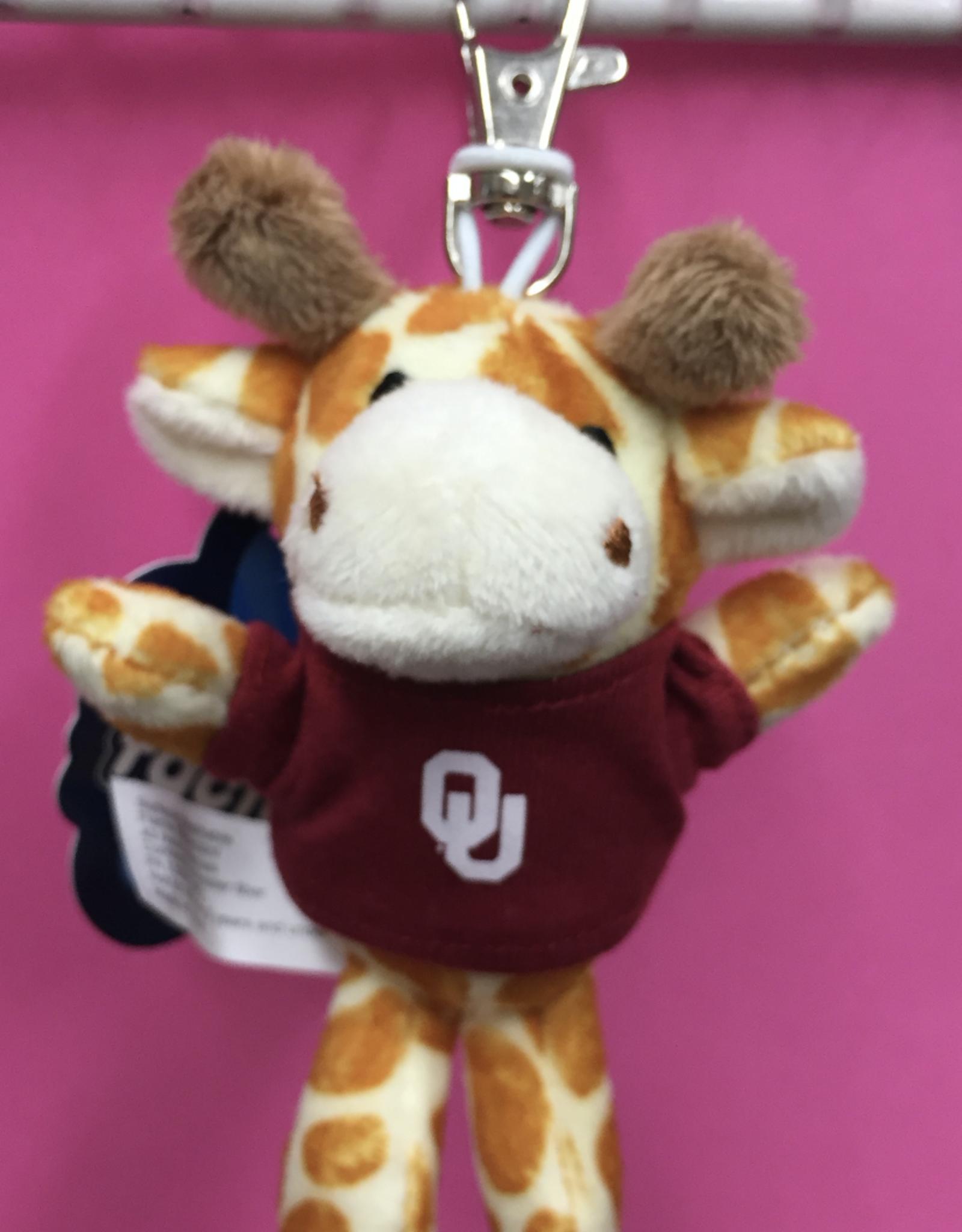 Mascot Factory Keychain Giraffe w/ T-Shirt