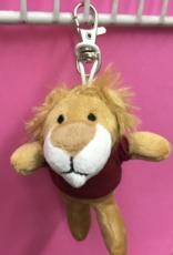 Mascot Factory Keychain Lion w/ T-Shirt