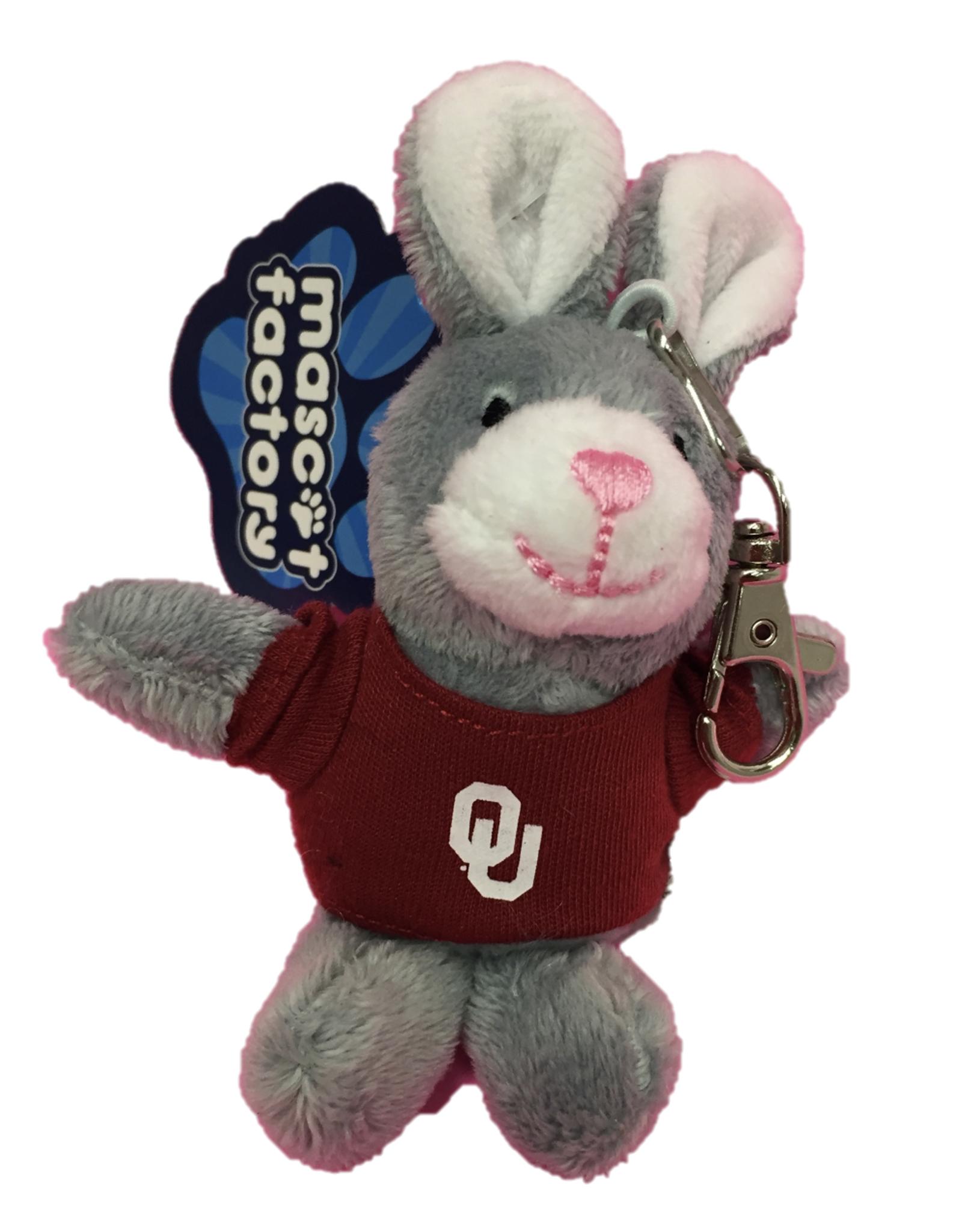 Mascot Factory Keychain Bunny w/ T-Shirt