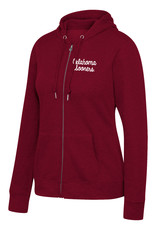 TOW Women's TOW Essential Full Zip Hoodie Cardinal