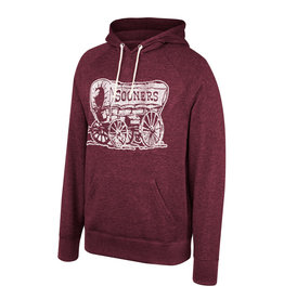 TOW Men's TOW Tribute Triblend Hoodie-Washed Cardinal