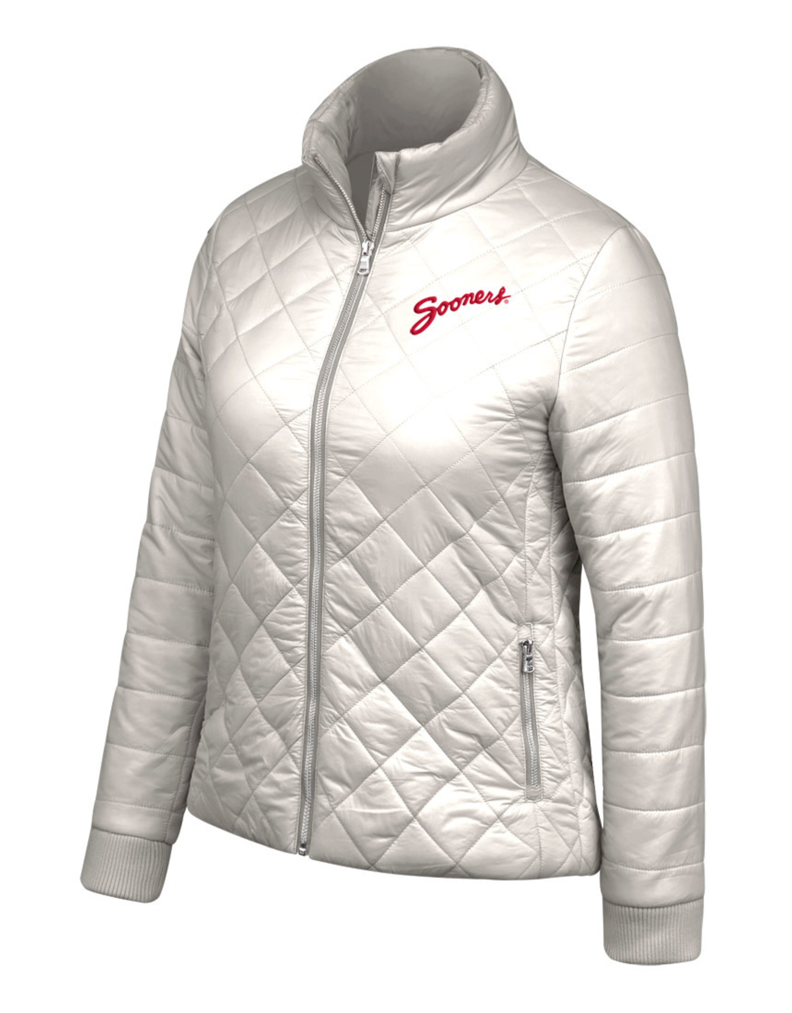 TOW Women's TOW Diamond Lightweight Puffer Jacket-Mist