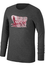 TOW Men's TOW Thermal Crew L/S Tee-Black Heather