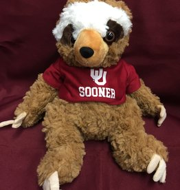 Mascot Factory Cuddle Buddies Sloth w/ T-Shirt