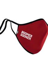 Distanz Health Mask Boomer Sooner Crimson Polygiene Mask