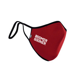 Distanz Health Mask Boomer Sooner Crimson Polygiene Mask